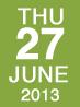 Thurs June 27
