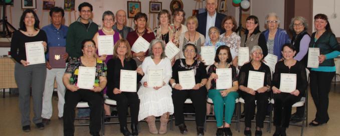Club Casa de los Abuelos Voluntarios Mayo 2014