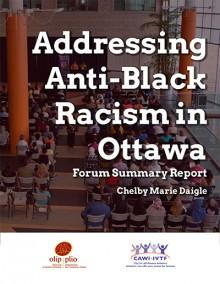 Anti-Black Racism Forum Report (2017-02)_Cover