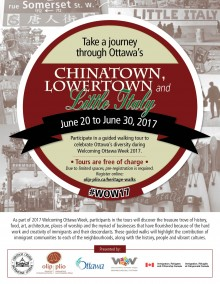 Immigrant Heritage Walking Tour Brochure