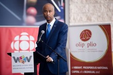 The Honourable Ahmed Hussen, Minister of Immigration, Refugees and Citzenship